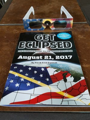 Key to the City is selling eclipse glasses and books as a fundraiser for local charities.