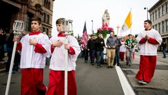 Hundreds of people gather for the 33rd Annual Pro-Life