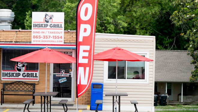 A general street view of Inskip Grill on 101 E. Inskip Road in Knoxville, Tennessee on Tuesday, May 22, 2018. Hours are 6 a.m.-2 p.m. Monday-Friday, 7 a.m. to whenever on Saturday and closed on Sunday.