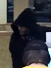 The suspect in a Jan. 27 armed robbery at the Subway located at 1120 Radisson Street.
