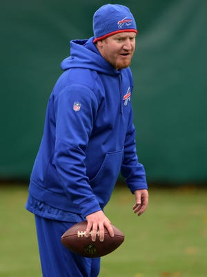 Bobby April III coached linebackers for the Buffalo Bills in 2015 and '16.