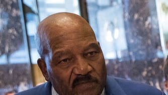 Jim Brown played for the Cleveland Browns for nine seasons.