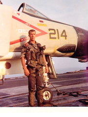 Tom Irlbeck, who became a Cape Coral winter resident in 2003, was an original 'Top Gun' instructor and flew almost 200 combat missions in Vietnam.