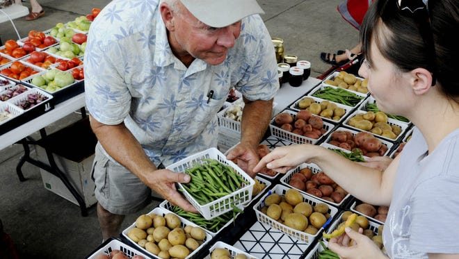 The Shreveport Farmers' Market will open Saturday with 140 booths of locally grown foods and plants, and music by The Blanchard Jammers. It takes place in Festival Plaza downtown at 101 Crockett St. from Market Street to Commerce Street.