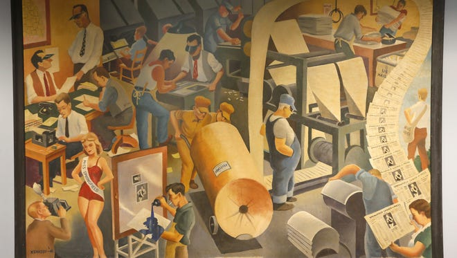 Answer Man: What happened to  that wonderful painting that once was in the lobby of the News-Leader?