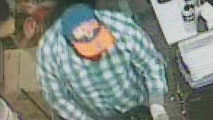 Police are looking for this man, who robbed Five Guys in East Hanover Saturday night.