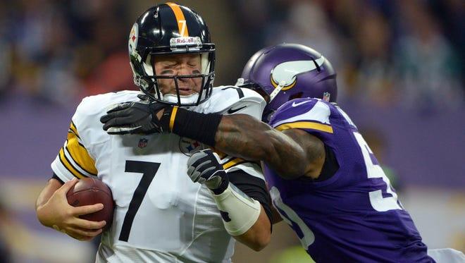 Ben Roethlisberger's Steelers will meet the Vikings to kick off the NFL's 2015 preseason.