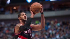 Apr 15, 2015: Portland Trail Blazers forward LaMarcus