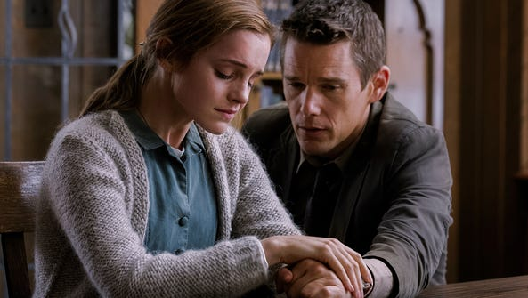 Emma Watson is an abuse victim and Ethan Hawke the