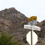 Montini: Gut check. Will Phoenix (finally) rename Squaw Peak Drive?