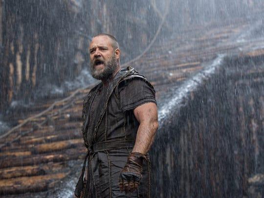 Russell Crowe is Noah.