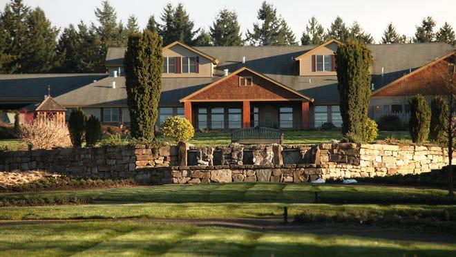 The Oregon Garden Resort in Silverton overlooks The Oregon Garden. The resort will hold an Easter brunch April 16.