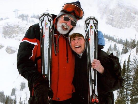 Chuck and Jann Perkins, original board members of the