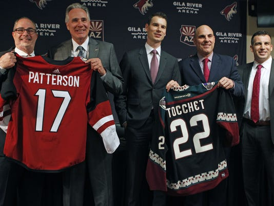 Coyotes introduction press conference