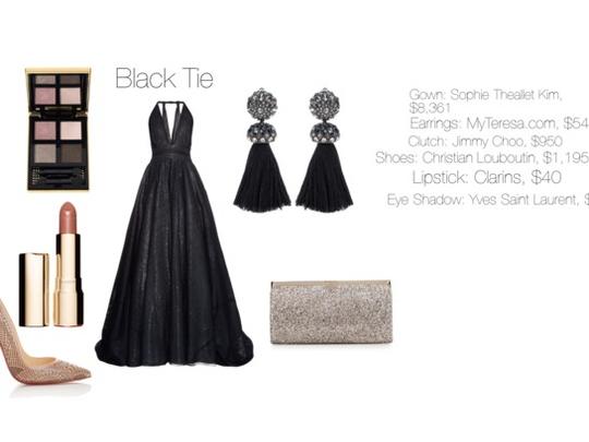 Dress Code: Black Tie (women)