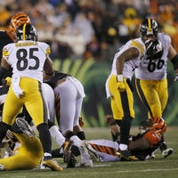 first rate f3fe7 a0782 JuJu Smith-Schuster doesn't want to discuss Vontaze Burfict ...