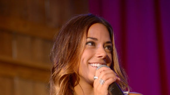 Jana Kramer (pictured) and Easton Corbin on Oct. 23 are coming to MSU.