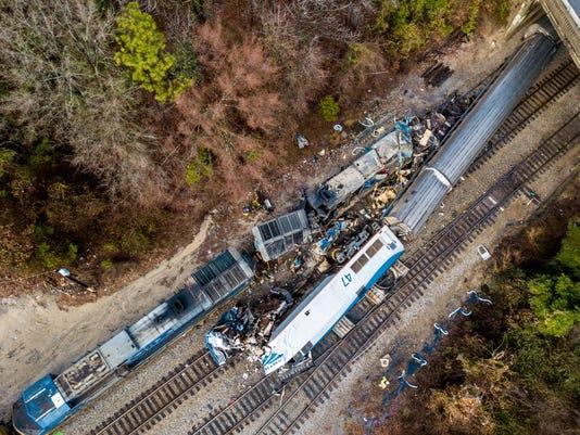 AP TRAIN CRASH SOUTH CAROLINA A FILE USA SC