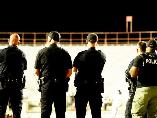 The Shreveport Police officer averaged 11 officers