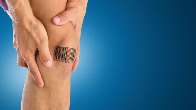 Knee Barcode
