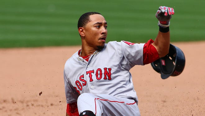 Mookie Betts' excellent all-around season - 18 homers, 21 steals, an .821 OPS - could be the prelude to a bigger 2016.