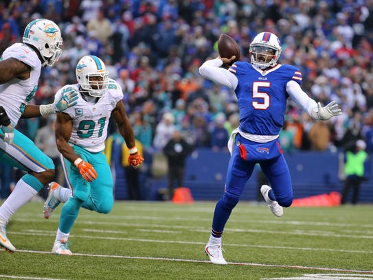 It's another big year for Tyrod Taylor as he tries
