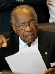 Sen. David Jordan, D-Greenwood, has served in the Mississippi Legislature since his election in 1993. Back in 1955, he and three other students from what is now known as Mississippi Valley State University attended the Emmett Till murder trial.