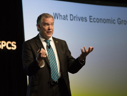 Thomas Siems, with the Federal Reserve Bank, speaking