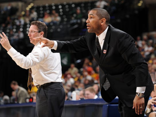 University of Iowa's assistant basketball coach LaVall