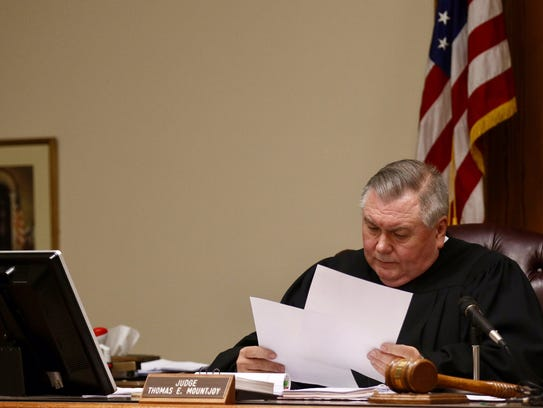 A jury could not come to a unanimous decision Monday,