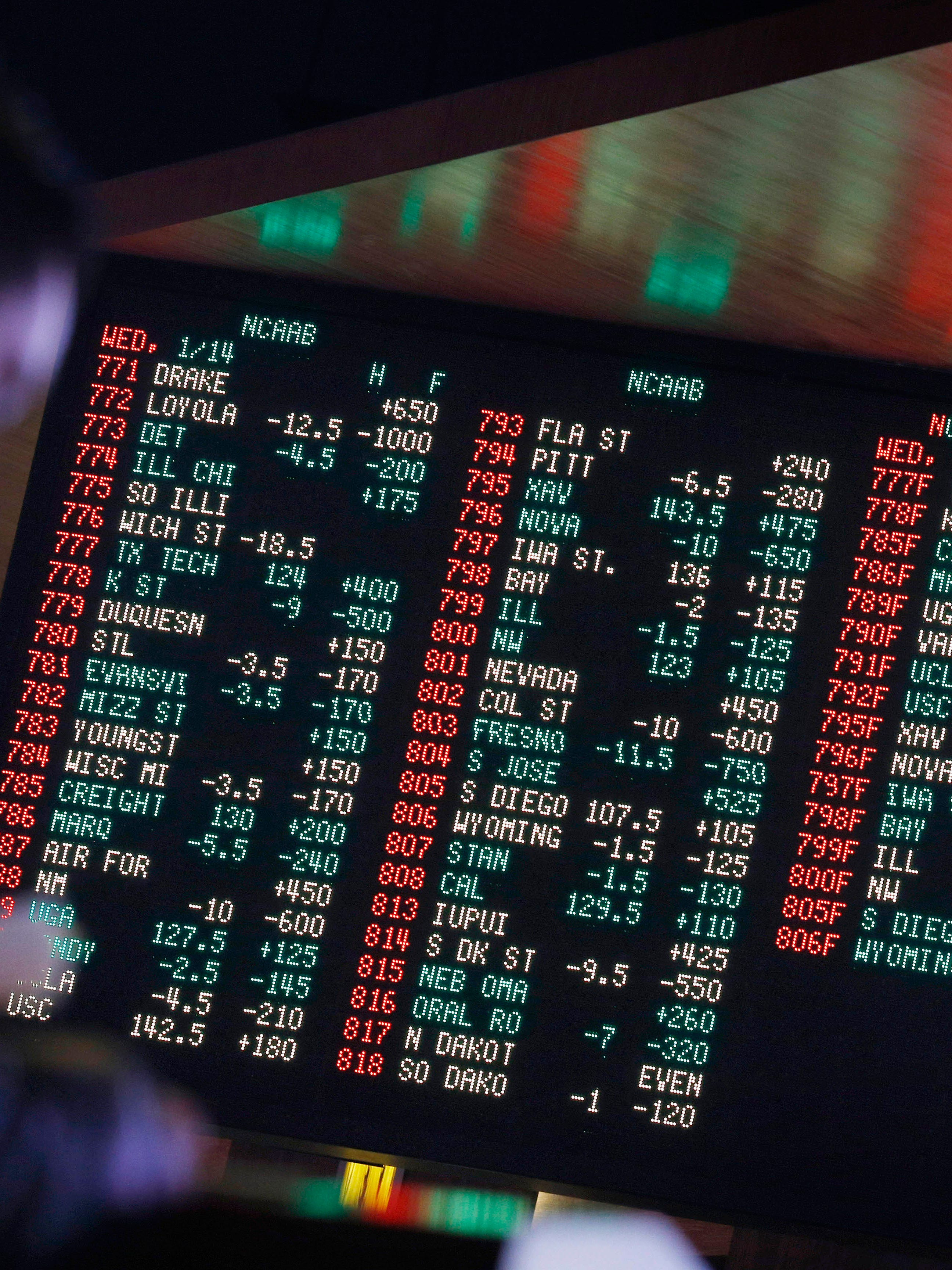 betting terms naples