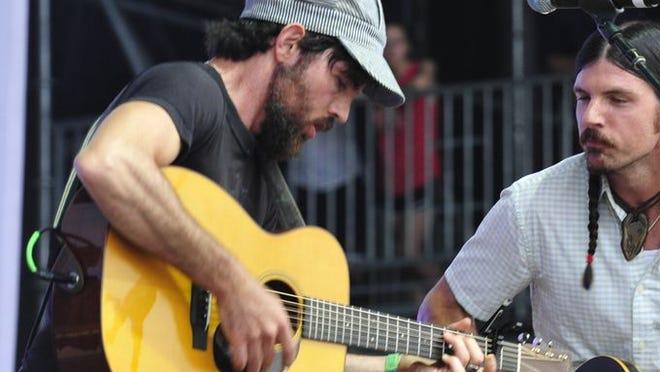 The Avett Brother perform Sunday night at Bonnaroo.