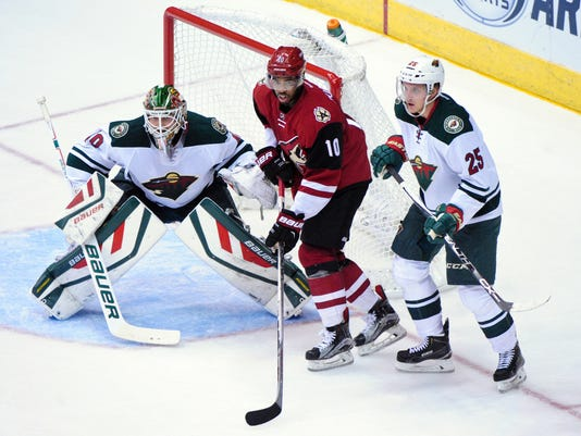 NHL: Minnesota Wild at Arizona Coyotes