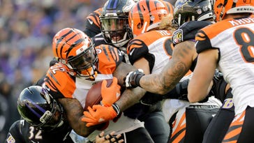 Bengals on track for worst run game since 2010