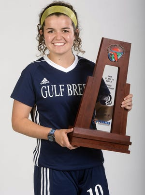 2018 PNJ All-Area Girls Soccer Player of the Year is Gulf Breeze High School's Rainey Niles.