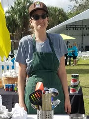 Chef Jackie Vitale of Ground Floor Farm recently competed in Stuart Chopped! at the ArtsFest in Stuart.