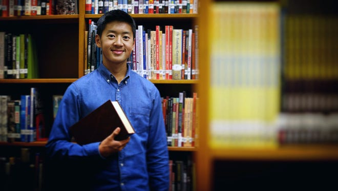 Spencer Guo of Green Bay Preble High School is a member of the 2016 Green Bay Press-Gazette Academic Team.