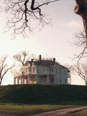 Mont Helena sits atop a Native American mound in Rolling Fork.
