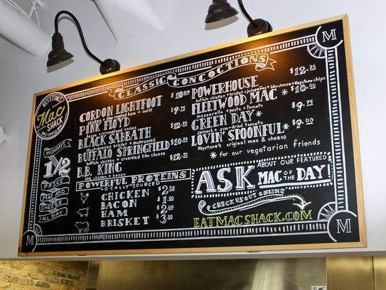 Mac Shack features a variety of mac and cheese dishes with toppings to customize yours as well.