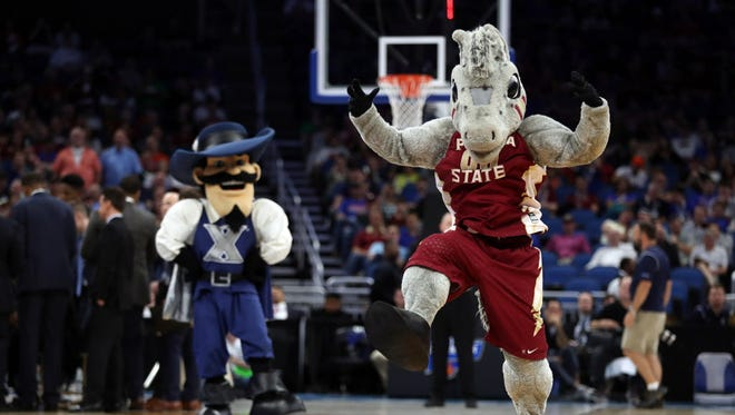 Completing a bracket based on mascot preferences is one approach.