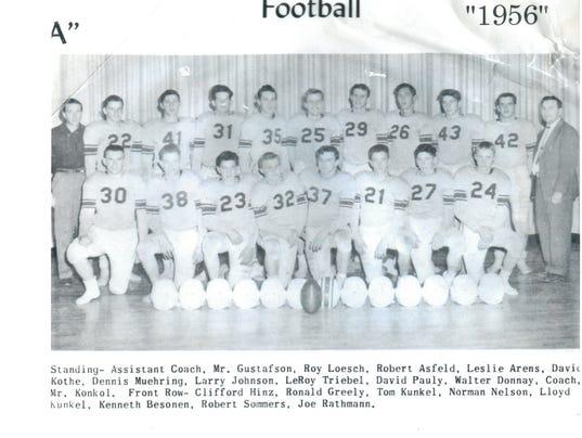 The 1956 Kimball football team