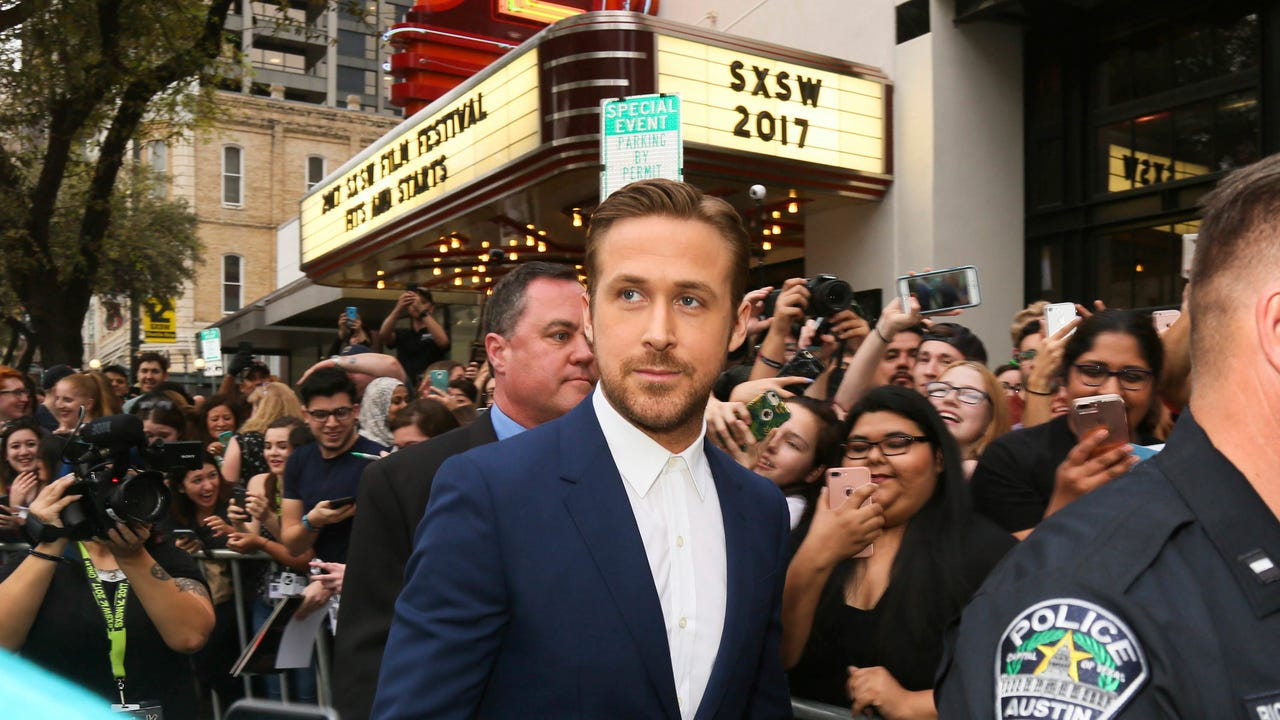 A galaxy of CinemaCon stars, including Ryan Gosling, Jack Black, Nick Jonas and Tom Holland, share their memories and impressions of Las Vegas, where the annual convention is taking place. (March 28)