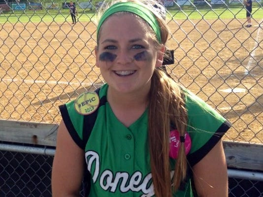 Donegal 2nd baseman Hayley Bollinger was named to the All-State second team.