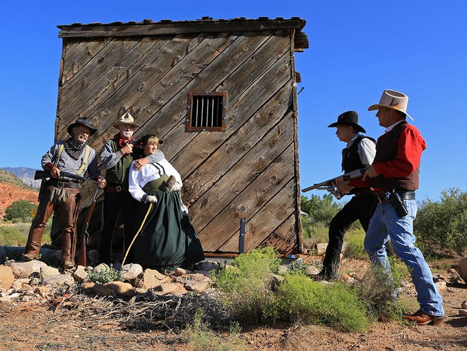 The Muddy River Gang will participate in a gunfight
