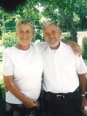 Claude Baldwin, right, poses with his wife, Bonnie. A lifelong Daytona Beach resident and motorcycle fan, Baldwin died on April 25 of coronavirus. He operated a motorcycle repair shop for two decades on Derbyshire Road in Daytona Beach.