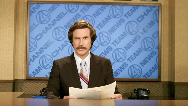 Will Ferrell starred as anchorman Ron Burgundy in 'Anchorman: The Legend of Ron Burgundy' in 2004.