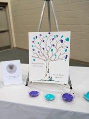Vigil artwork at the 24th Annual Women In Need Vigil