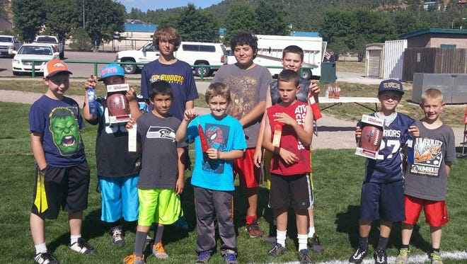 The Village of Ruidoso recently hosted a Pass, Punt and Kick competition for local youth.