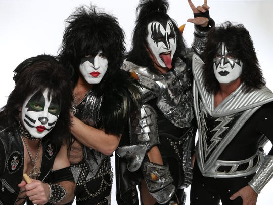 The legendary rock band KISS is finishing their final tour.