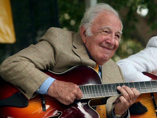Bucky Pizzarelli performs at Ocean County College Arts & Community Center, Toms River.